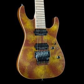 ESP USA M-7 FR - Solar Flare, Maple Fingerboard, Stainless Steel Frets, Seymour Duncan Pickups