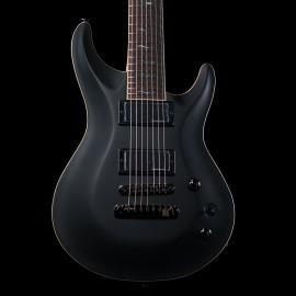 FGN Fugijen Expert Elan EEL7-HM-DE-R 7 String (Black)