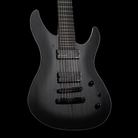 FGN Mythic 7-String JMY72ASHE - Open Pore Black - Made in Japan (Fujigen)