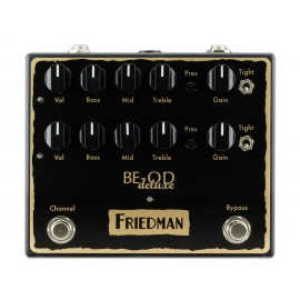 Friedman BE-OD Deluxe Overdrive Pedal - Made In the USA