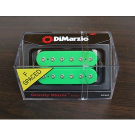 DiMarzio Gravity Storm Bridge Pickup DP253 (Green) F-Spaced