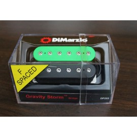 DiMarzio Gravity Storm Bridge Pickup DP253 Green/Black (F-Spaced)