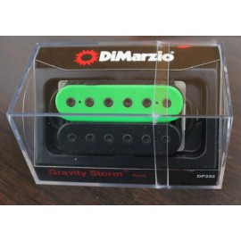 DiMarzio Gravity Storm Neck Pickup DP252 Green/Black w/ Black Bolts