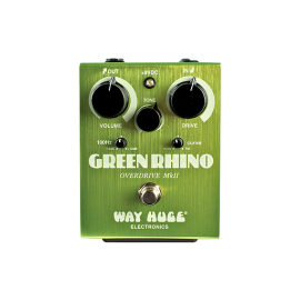 Way Huge Electronics Green Rhino Overdrive MkII (WHE-202) Pedal