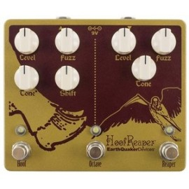 EarthQuaker Hoof Reaper Double Fuzz + Octave Up
