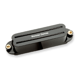 Seymour Duncan Hot Rails Strat Set (Black)