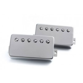 "Bare Knuckle ""True Grit"" Humbucker Pickup Set - Boot Camp Series - Nickel Covers"