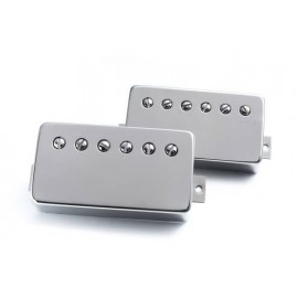 "Bare Knuckle ""Old Guard"" 6 String Humbucker Set (Nickel Covers) - Boot Camp Series"
