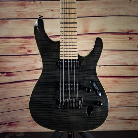 Ibanez Prestige S6527MFFX Exclusive Limited Run 7-String (Black Haze)