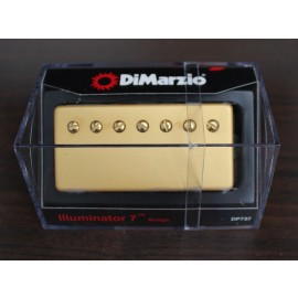 DiMarzio Illuminator 7 Bridge Model DP757 (Gold Cover)