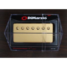 DiMarzio Illuminator 7 Neck Model DP756 (Gold Cover)