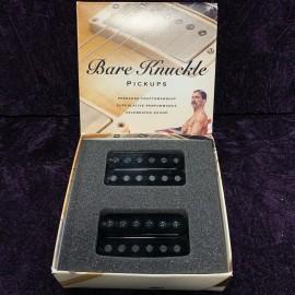 Bare Knuckle Pickups Ragnarok 6 Set (Open Black, Black Screw)
