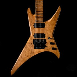 Jackson USA Custom Shop Dave Davidson Signature Warrior WR7 7-String (Carmelized Flame Maple Fingerboard - 1 of 30 Made)