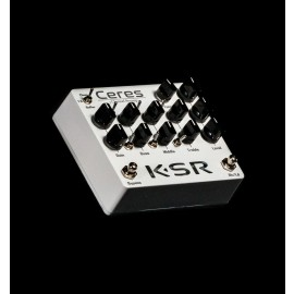 KSR Ceres 3-Channel Preamp Pedal - White