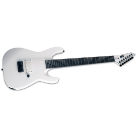 ESP LTD 2021 M-7B HT Arctic Metal 7-String - Snow White Satin (PRE-ORDER)