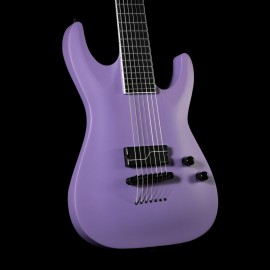 ESP LTD SC-607 Baritone 1 Hum (Purple Satin)