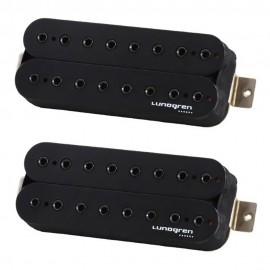 Lundgren Black Heaven 8-String Pickup Set (Black)