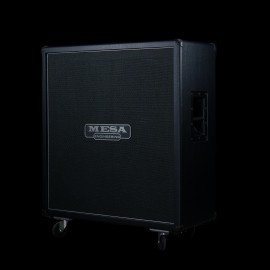 Mesa Boogie 4X12 RECTO® Standard OS Straight Cabinet  with V30 (Black Taurus)