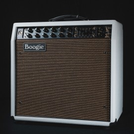Mesa/Boogie Mark V 35 1x12 Combo - White Bronco w/ Gold Jute Grill