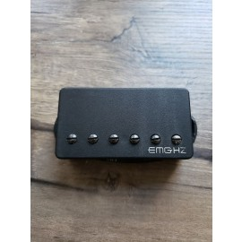 "Used EMG ""EMG-F-H2"" 6 String Bridge Humbucker-Black"