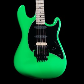 Ernie Ball Music Man Cutlass 6 Floyd Rose (Lime Green)