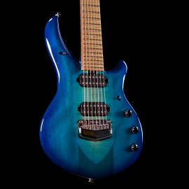 Ernie Ball Music Man BFR Majesty 7 - Bali Blue Burst