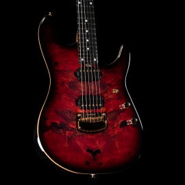Ernie Ball Music Man Jason Richardson Signature 6-String Cutlass (Rorschach Red)