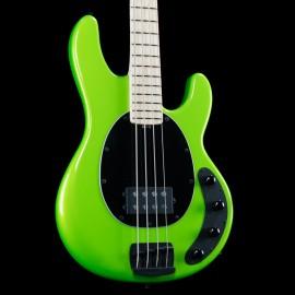 Ernie Ball Music Man Stingray 4-String H Bass AP Exclusive Run (Lambo Green) - 1 of 4