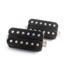 "Bare Knuckle ""Brute Force"" Humbucker Pickup Set (Open-Coil Black, 53mm) - Boot Camp Series"
