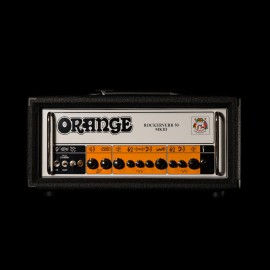 Orange Rockerverb 50 MK III 50W Tube Amplifier Head (Black Tolex)