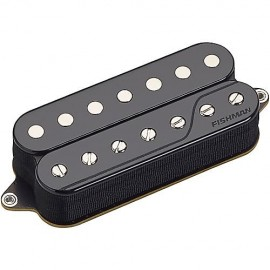 Fishman Fluence Open Core Classic Multi-Voice 7 String Guitar Pickup Set - Black