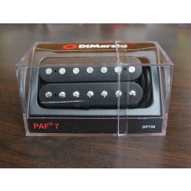 DiMarzio PAF 7 DP759 7-String Pickup (Black)