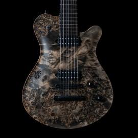 Framus CS Panthera Supreme 7-String (BKP Juggernaut Pickups, Purple LEDs, Birdseye Poplar Top, Chambered)
