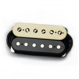 "Bare Knuckle ""True Grit"" 6 String Neck Humbucker (Open-Coil) - Boot Camp Series - Zebra"