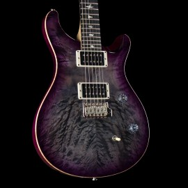 PRS CE Custom 24 Quilt AxePalace Exclusive Limited Run (Grey Purple Burst, 1 of 5 Made)