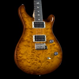 PRS CE-24 Quilt AxePalace Exclusive Limited Run Guitar (Violin Amber Sunburst, 1 of 5)