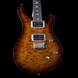 PRS CE-24 Quilt AxePalace Exclusive Limited Run (Violin Amber Sunburst, 1 of 5 Made)