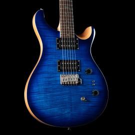 PRS SE Custom 24 35th Anniversary - Faded Blue Burst