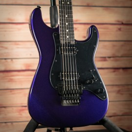 Charvel Pro Mod So-Cal Style 1, HH, FR, Ebony Fingerboard, Deep Purple Metallic