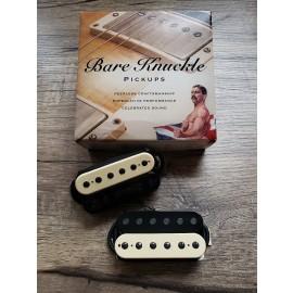Bare Knuckle Rebel Yell 6-String Calibrated Set (Zebra w/ Black Screws)