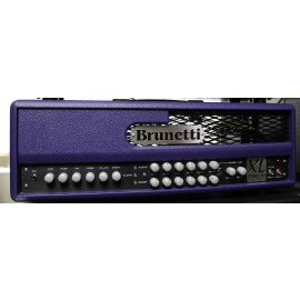 Brunetti XL II R-EVO LTD KT88 High-Gain Tube Amplifier Head Purple (1 of 50)