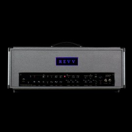 "Revv Generator 100p MKIII Tube Amplifier Head & 4x12 Cabinet in Custom ""Silver Bronco"" Tolex"