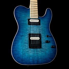 Schecter USA PT Custom Sky Blue w/ Maple Fingerboard & Black Hardware