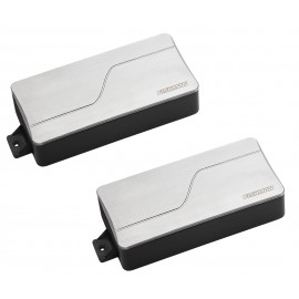 Fishman Fluence Modern 7-String Multi-Voice Humbucker Pickup Set (Brushed Stainless)