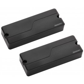 Fishman Fluence Modern 8-String Multi-Voice Humbucker Pickup Set (Black)