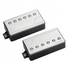 Fishman Fluence Modern 6-String Multi-Voice Humbucker Pickup Set (Brushed Stainless)
