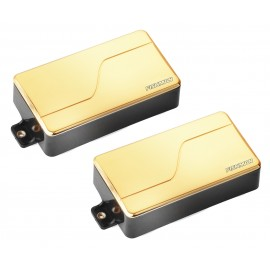 Fishman Fluence Modern 6-String Multi-Voice Humbucker Pickup Set (Gold)