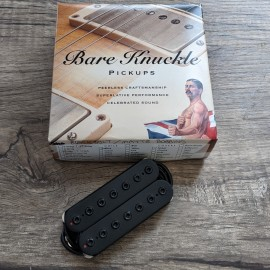 Bare Knuckle Silo 7-String Bridge Pickup (Black Matte w/ Black Bolts)