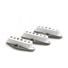 "Bare Knuckle ""Old Guard"" Strat Replacement Pickup Set in White - Boot Camp Series"