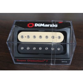 DiMarzio Super Distortion 7 Pickup DP712 Black/Creme